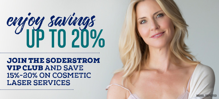 Save up to 20% on laser services