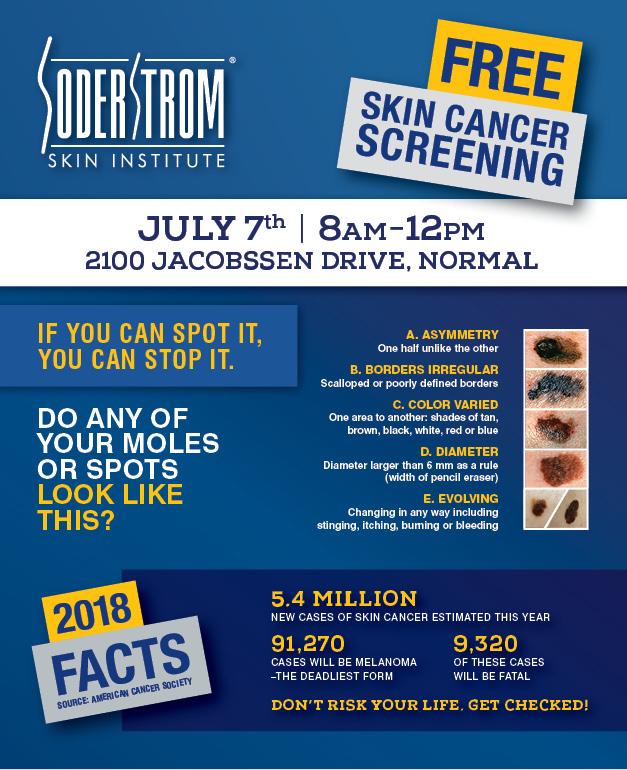 Free Skin Cancer Screening In Normal